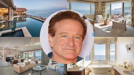 Metus pardavinėtas Robinui Williamsui priklausęs namas rado šeimininkus tik gerokai sumažinus kainą