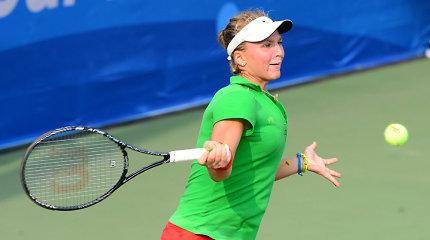 Akvilė Paražinskaitė pergale pradėjo ITF moterų turnyro Minske kvalifikaciją
