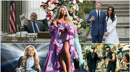 Ryškiausi 2017 metų įvykiai ir skandalai užsienio pramogų pasaulyje