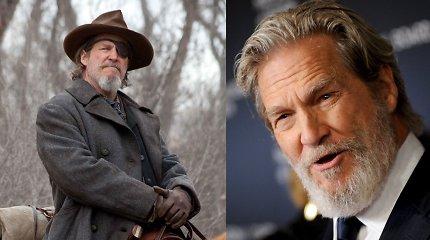 Su vėžiu kovojantis Jeffas Bridgesas pristatė naują draugą ir įvaizdį: Holivudo legenda vos atpažįstama