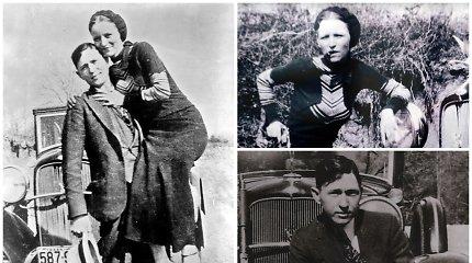 Legendiniai nusikaltėliai Bonnie ir Clyde'as: nežinomi faktai apie įstatymams nepaklususį duetą