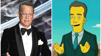 """Pasitvirtino dar viena """"Simpsonų"""" pranašystė: serialo kūrėjai numatė Tomo Hankso karantiną?"""