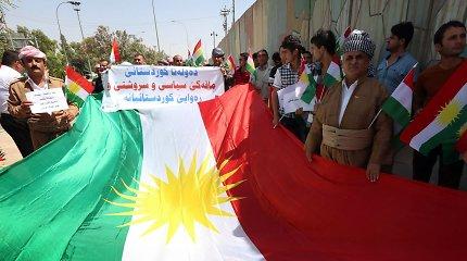 Irako kurdų balsavimas parlamento rinkimuose baigėsi