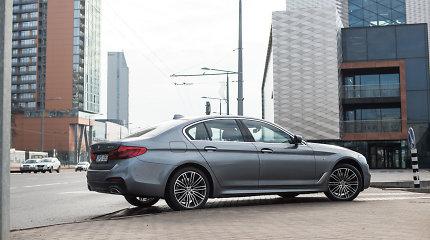 Lietuvoje – autonominio valdymo savybių turinčio naujojo BMW 5 premjera