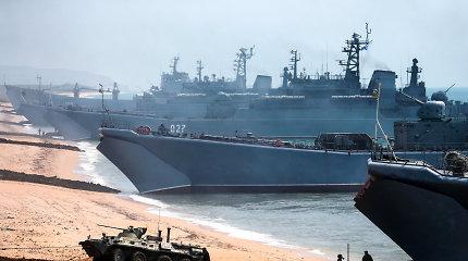 Suklastoti duomenys rodė Rusijos karo laivų buvimą Lietuvos teritoriniuose vandenyse