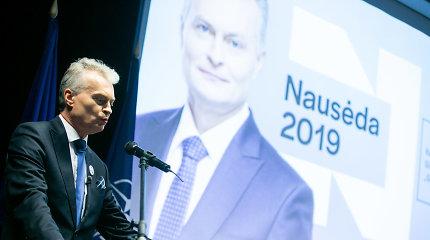 Išlindo dar viena G.Nausėdos kampanijos yla – iš savo kišenės už reklamą mokėjo ir štabo vadovė