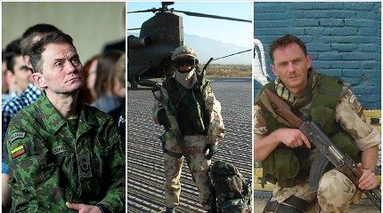 """Karininkas V.Šerelis – apie misijas Afganistane ir Irake, mūšio lauke netylinčias mūzas, šeštą jausmą: """"Išsikalbu per muziką"""""""