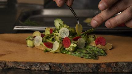 Kiek Lietuvos restoranų svečių prašo augalingų patiekalų ir ką jiems ruošia šefai?