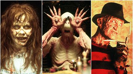 Pabaisos realybėje ne tokios baisios: kaip siaubo filmų herojai atrodo be grimo