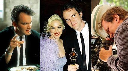Faktai apie Quentiną Tarantino, įtraukiantys kaip ir jo filmai: vos neteko spenelio, sėdėjo kalėjime