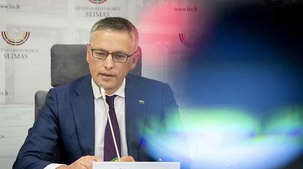 V.Bakas pasitiki VSD ir kviečia į skandalą reaguoti ramiai, bet pradėti tyrimą Seime