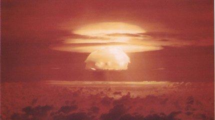Apklausa: tūkstantmečio karta bijo branduolinės atakos per artimiausią dešimtmetį
