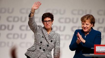 A.Merkel paneigė pranešimą, esą ji nusivylė naująja CDU lydere
