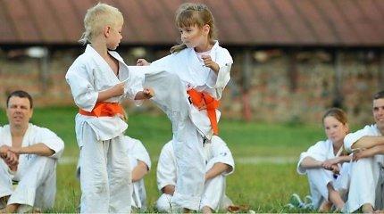 """10-metė Lietuvos karatė čempionė: """"Ant tatamio lipu atiduoti visas jėgas ir nugalėti"""""""