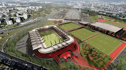LAT atvėrė kelią Vilniaus nacionalinio stadiono statybų sutarčiai