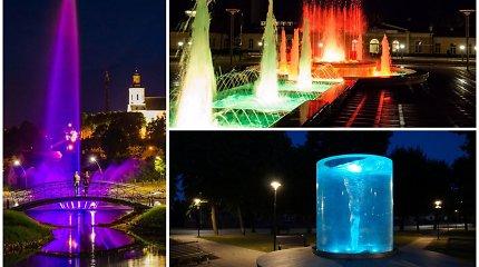 Išrinktas gražiausias fontanas Lietuvoje