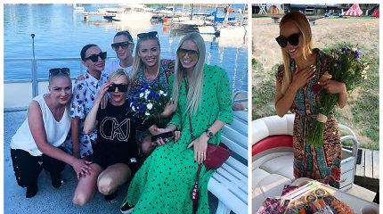 Goda Alijeva trankiai atšventė 33-iąjį gimtadienį: pasveikino ir buvęs sutuoktinis Rolandas Alijevas