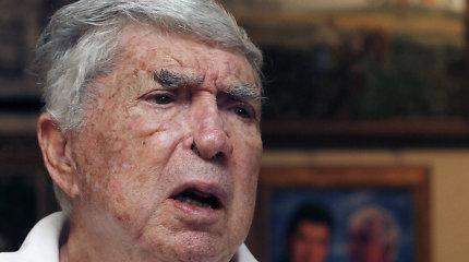 Mirė Kubos antikomunistinis kovotojas Luisas Posada Carrilesas