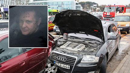 """Teisėja sutriuškino vairuotoją, kuris šiurpino Vilnių: uždraudė gerti, vairuoti ir atėmė """"Audi"""""""