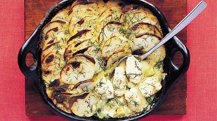 """15 patiekalų iš """"pavargusių"""" bulvių: nuo klasikinio kugelio iki airiškos bulvių košės"""