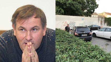 Bortelį automobiliu kliudęs žurnalistas Virginijus Gaivenis pateko į nemalonią istoriją