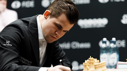 Kovoje dėl šachmatų karaliaus vardo – dešimtosios lygiosios