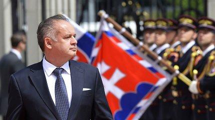 Kadenciją baigiantis Slovakijos prezidentas Andrejus Kiska kurs savo partiją