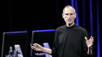 Paskutiniai žodžiai: mirties patale S.Jobsas išsižadėjo turto?