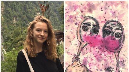 Siuvinėjanti ir animacijas piešianti Ringailė: įkvėpimas pats savaime neateina