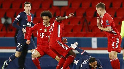 """Vokiškas stebuklas neįvyko: PSG išspyrė """"Bayern"""" vyrus iš Čempionų lygos"""
