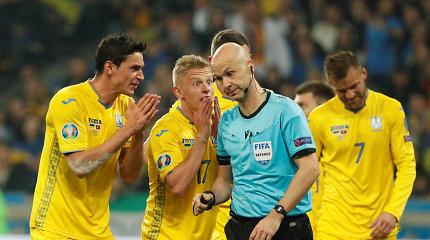 Ukrainos futbolininkas šyptelėjo dėl Rusijos rinktinės
