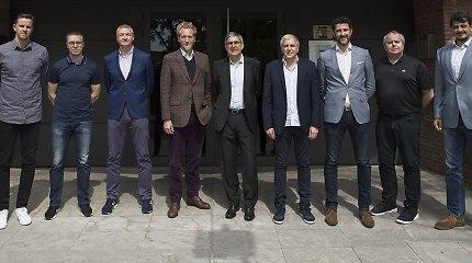 P.Motiejūnas Barselonoje susitiko su J.Bertomeu, Ž.Obradovičiumi ir L.Lamonica