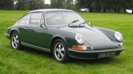 """1972-ųjų """"Porsche 911"""" turėjo pavojingai keistą dizaino sprendimą"""