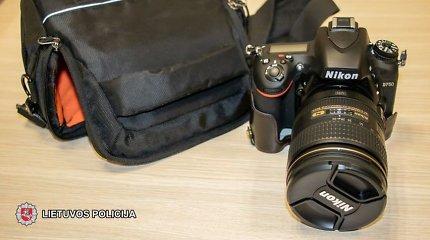 Klaipėdoje sulaikyti brangų fotoaparatą pasisavinę sukčiai
