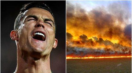 Cristiano Ronaldo pasisakė gražiai, bet liko išjuoktas dėl nuotraukos