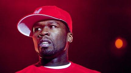 """Reperis """"50 Cent"""" netyčia uždirbo 8 mln. dolerių iš bitkoinų"""