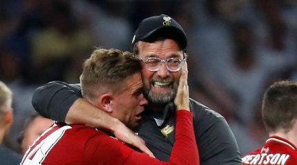 """Po """"Liverpool"""" triumfo Čempionų lygoje – jausmingi žaidėjų ir J.Kloppo žodžiai"""