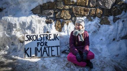 Jaunimas kyla į kovą dėl klimato kaitos: protestuodami nelanko mokyklų ir paskaitų