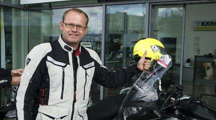 """Motociklų entuziastas Aidas Bubinas: """"Naujų maršrutų sukurta keleriems metams į priekį"""""""