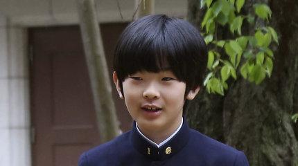 Japonijoje ant princo mokyklinio suolo du peilius palikęs vyras nuteistas lygtinai