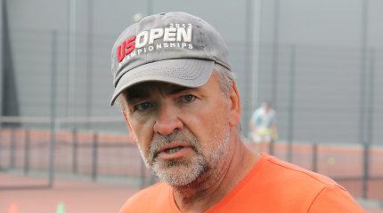 """R.Balžekas: """"Perfrazuojant N.Kesminą – Lietuvos tenisas tokioje duobėje dar nebuvo"""""""