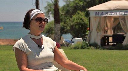 Emigravusi fizikos mokytoja gyvenimui užsidirba masažais