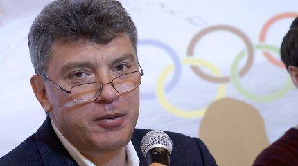 JAV paragino Rusiją nubausti B.Nemcovo nužudymo užsakovus