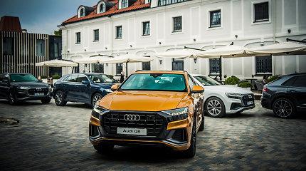 """Vilniuje pristatytas naujasis """"Audi Q8"""" – didelis SUV su kupė elegancija"""