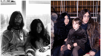 Niekas neužkirto kelio Johno Lennono ir Yoko Ono santykiams: nepaisė šeimos ir draugų nuomonės