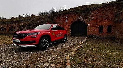 Autoturizmo perlai: bombų pėdsakai ir požemių paslaptys Kauno III forte