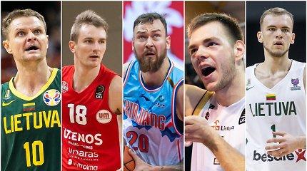 TOP 15 laisvų Lietuvos krepšininkų: vertės ir galimos kryptys