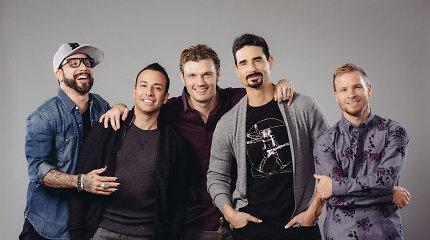 """""""Backstreet Boys"""" narys Nickas Carteris"""