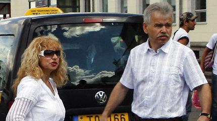 2017 m. su žmona išsituokęs Jurijus Borisovas iki šiol teisme dalijosi turtą