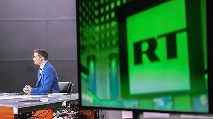Nutraukta Kremliaus ruporo RT transliacija Niujorke, Čikagoje ir Los Andžele